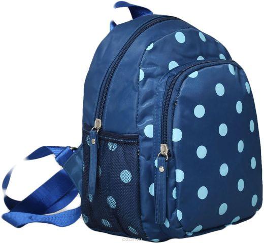 Рюкзак детский Горошек цвет синий 1470165