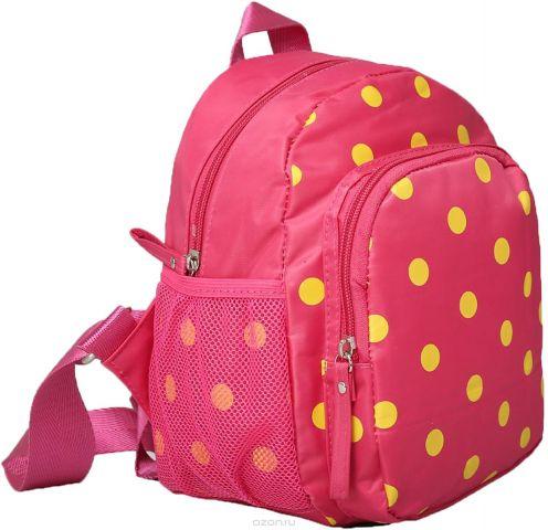 Рюкзак детский Горошек цвет розовый 1470167