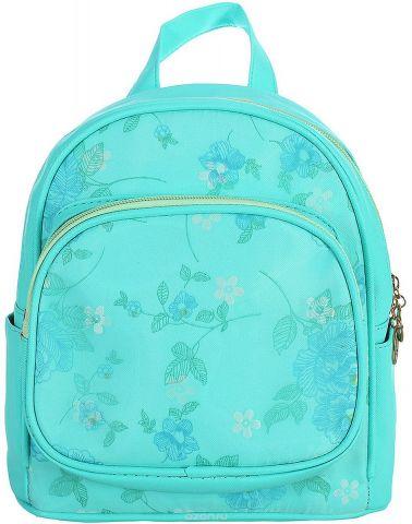 Рюкзак детский Цветы цвет голубой 1470169