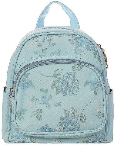 Рюкзак детский Цветы цвет голубой 1470172