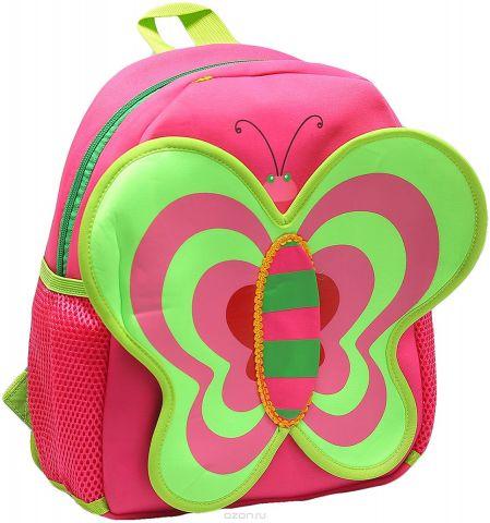 Рюкзак детский Бабочка цвет розовый 1653875