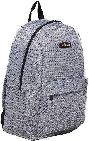 Рюкзак детский Рябь цвет серый 1660997