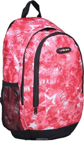Рюкзак детский Звезды цвет красный 1661060