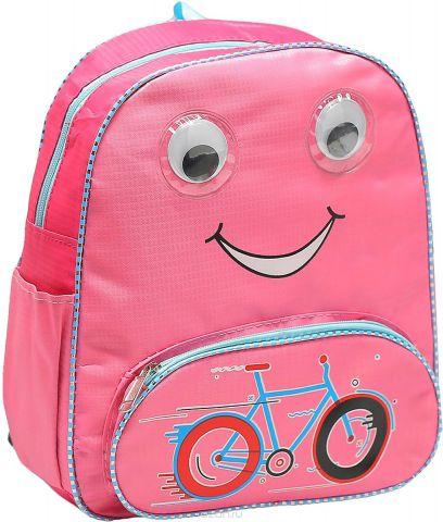 Рюкзак детский Велосипед цвет розовый 1661191