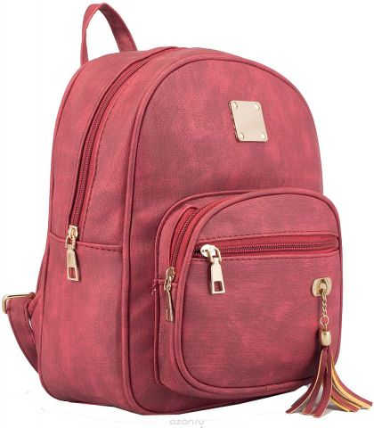 Рюкзак детский Кристи цвет красный 2523043