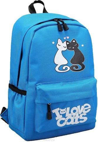Рюкзак детский Любовь цвет голубой 2826022