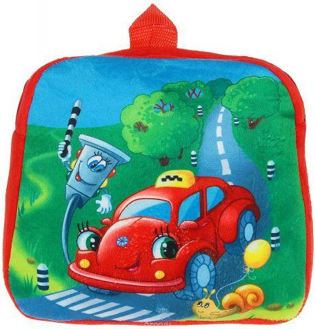 Страна Карнавалия Рюкзак дошкольный Машинка цвет: красный 1171276