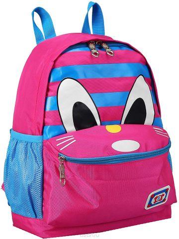 Рюкзак детский Котик цвет розовый 2819125
