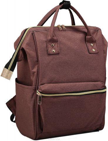 Рюкзак-сумка детский Стиль цвет коричневый 2819139