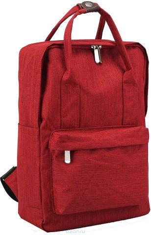 Рюкзак-сумка детский Джинс цвет бордовый 2820256