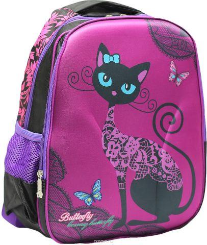 Рюкзак детский Кошечка цвет фиолетовый 2820264