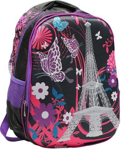 Рюкзак детский Города цвет розовый черный 2820266
