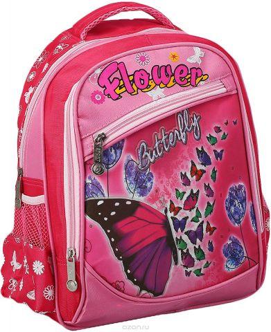 Рюкзак детский Бабочка цвет розовый 2825956