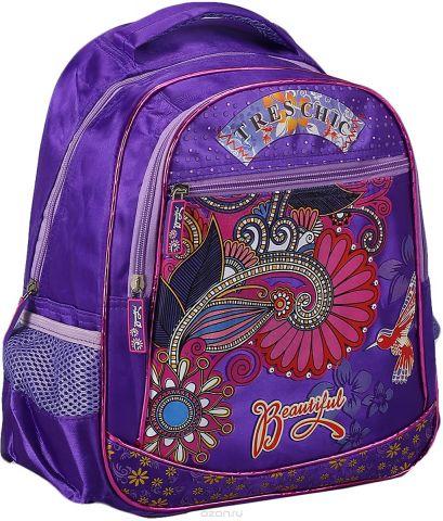 Рюкзак детский Цветы цвет фиолетовый 2825957