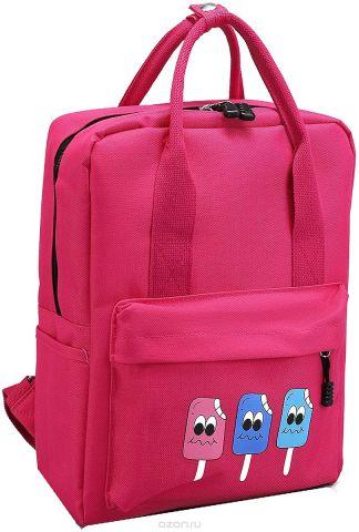 Рюкзак-сумка детский Мороженое цвет розовый 2826026
