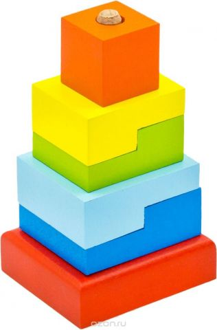 Alatoys Пирамидка Ступеньки ПСТ03