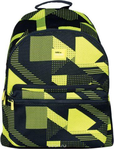 Milan Рюкзак детский Knit цвет черный желтый