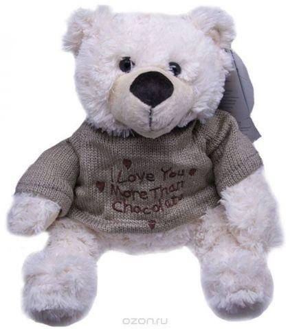 Magic Bear Toys Мягкая игрушка Мишка Этан в свитере 20 см