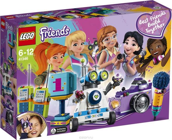 LEGO Friends Конструктор Шкатулка дружбы 41346