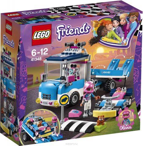 LEGO Friends Конструктор Грузовик техобслуживания 41348