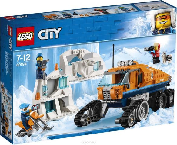 LEGO City Arctic Expedition Конструктор Грузовик ледовой разведки 60194