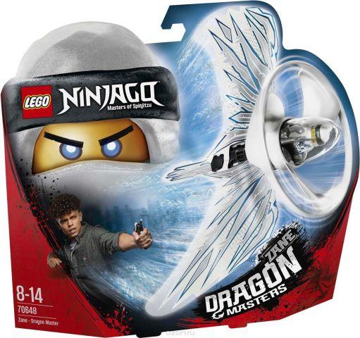 LEGO Ninjago Конструктор Зейн — Мастер дракона 70648