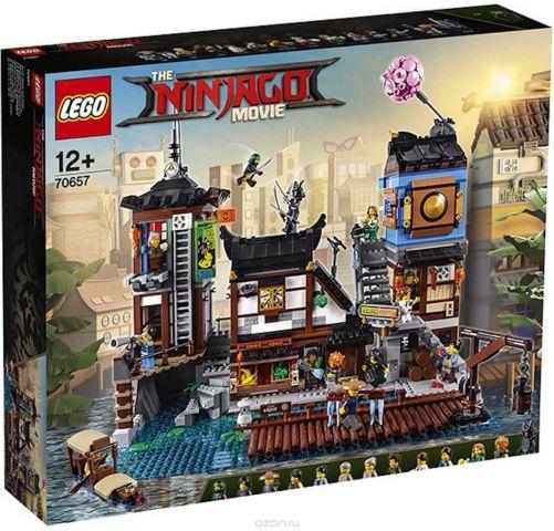 LEGO Ninjago Конструктор Порт Ниндзяго Сити 70657