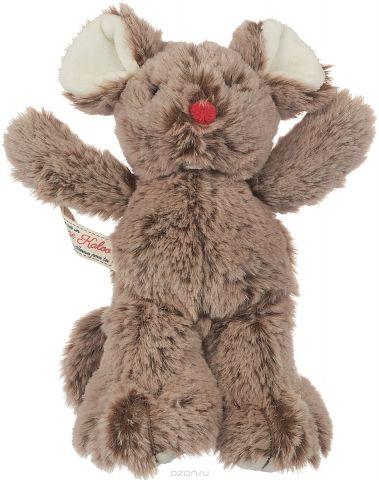 Kaloo Мягкая игрушка Мышка цвет коричневый 19 см
