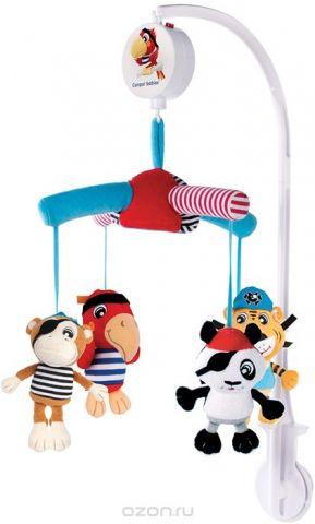 Canpol Babies Мобиль музыкальный Плюшевые пираты
