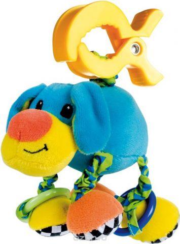 Canpol Babies Игрушка подвесная мягкая с вибрацией Собачка