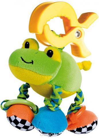 Canpol Babies Игрушка подвесная мягкая с вибрацией Лягушка