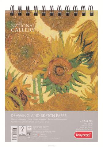 Bruynzeel Альбом для зарисовок National Gallery 40 листов формат A5 5804PPA5