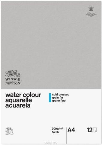 Winsor&Newton Альбом для акварели Classic 12 листов формат A4 6663251