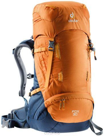 """Рюкзак туристический Deuter """"Fox"""", цвет: оранжевый, 30 л"""