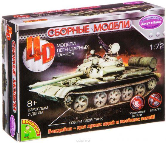 Воndibon Сборная 4D модель танка М1:72 ВВ2522