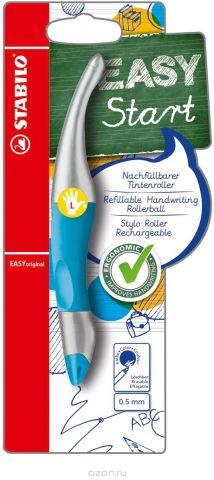 STABILO Роллер Easyoriginal Metallic для левшей синий цвет корпуса неоновый синий