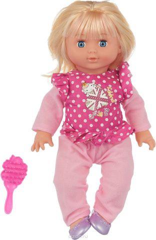 Doll&Me Кукла цвет наряда розовый малиновый 21 х 9,5 х 37 см 1031