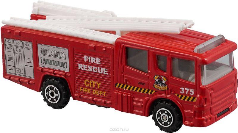 Pioneer Toys Машинка Street Machine цвет красный