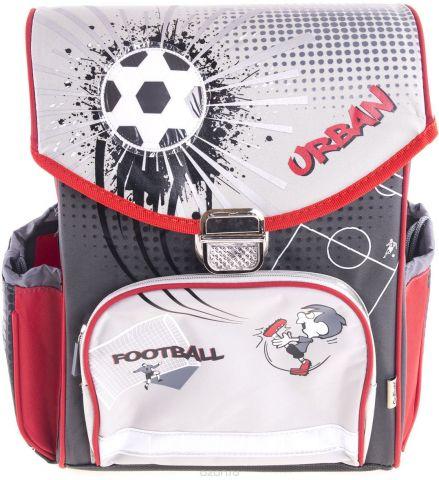 Gulliver Ранец школьный Футбол цвет серый