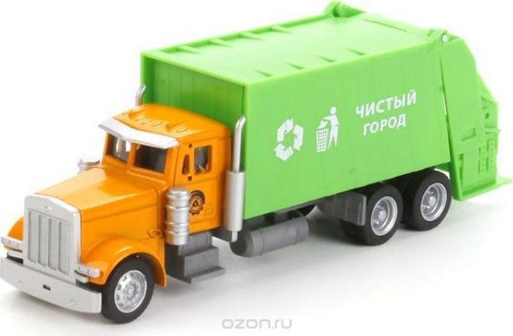 ТехноПарк Машинка Мусоровоз U1401B-4