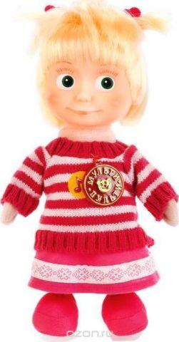 Мульти-Пульти Мягкая игрушка Маша в свитере 29 см