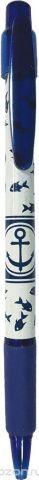 Expert Complete Ручка шариковая автомат с дизайном Lifestyles Якорь цвет чернил синий