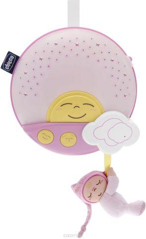 Chicco Игровая панель на кроватку Sunset цвет розовый