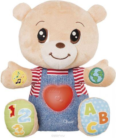Chicco Развивающая игрушка Мишка Teddy Emotion