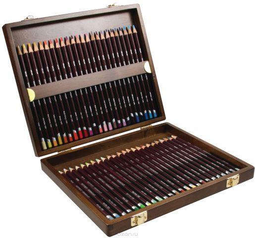Derwent Набор цветных карандашей Coloursoft 48 цветов