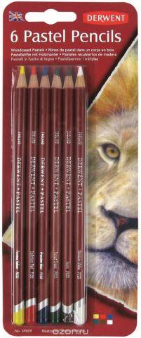 Derwent Набор пастельных карандашей Pastel 6 цветов