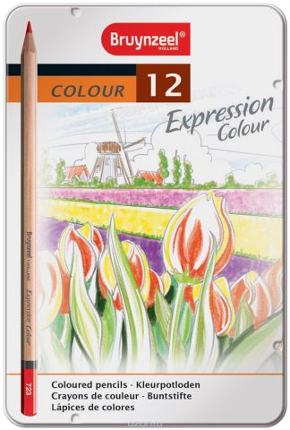Bruynzeel Набор цветных карандашей Expression Colour 12 цветов