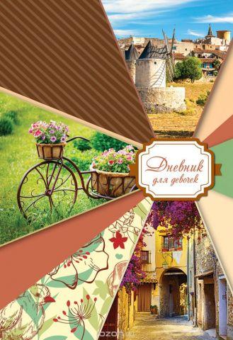 Апплика Дневник личный Прованс 80 листов