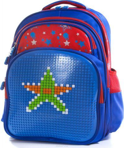 Vittorio Richi Рюкзак детский с наполнением цвет синий красный FL06K07R166804