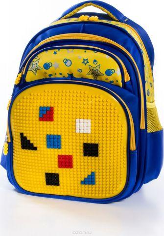 Vittorio Richi Рюкзак детский с наполнением цвет синий желтый FL06K07R166808